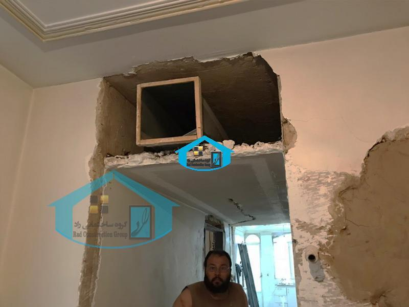 بازسازی خانه و آپارتمان