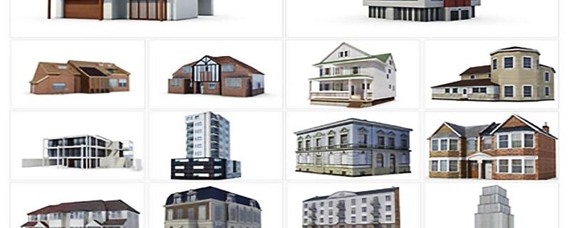مدل سازی سه بعدی ساختمان ، کاربرد و انواع آن